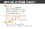 Reduce Requests - Save Bandwidth