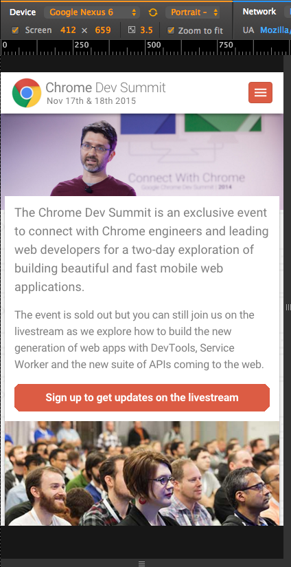 Chrome Dev Summit 2015