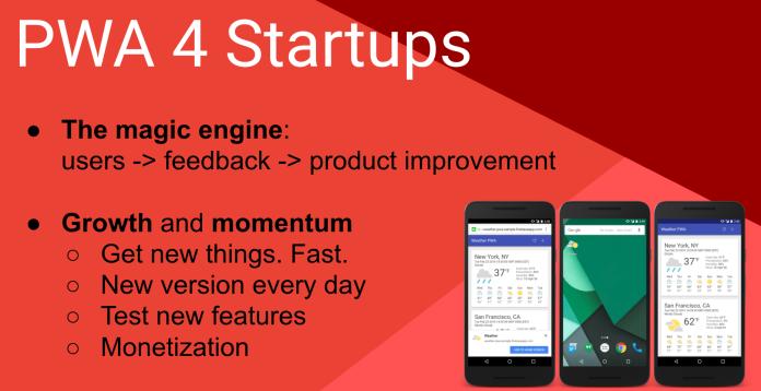 PWA 4 startups